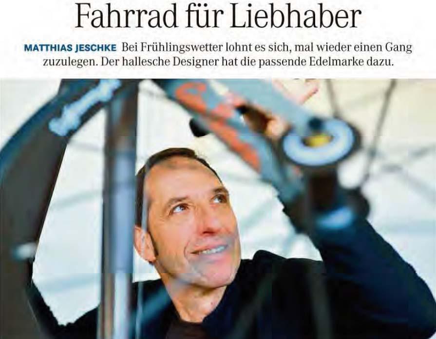 4/2017 _ Mitteldeutsche Zeitung _ VELOCiPEDO.