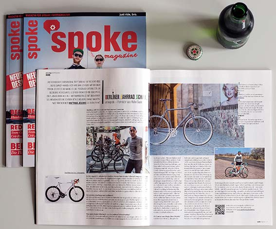 5/2015 _ SPOKE magazine _ VELOCiPEDO.