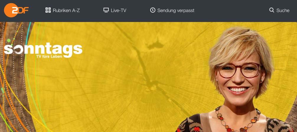 """8/2017 _ ZDF Morgenmagazin """"sonntags"""" _ VELOCiPEDO."""